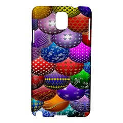 Fun Balls Pattern Colorful And Ornamental Balls Pattern Background Samsung Galaxy Note 3 N9005 Hardshell Case
