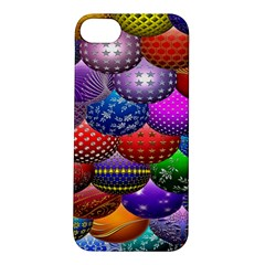 Fun Balls Pattern Colorful And Ornamental Balls Pattern Background Apple iPhone 5S/ SE Hardshell Case