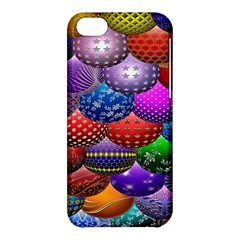 Fun Balls Pattern Colorful And Ornamental Balls Pattern Background Apple iPhone 5C Hardshell Case