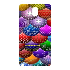 Fun Balls Pattern Colorful And Ornamental Balls Pattern Background Samsung Galaxy Note 3 N9005 Hardshell Back Case