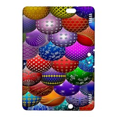Fun Balls Pattern Colorful And Ornamental Balls Pattern Background Kindle Fire HDX 8.9  Hardshell Case