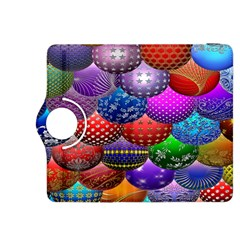 Fun Balls Pattern Colorful And Ornamental Balls Pattern Background Kindle Fire HDX 8.9  Flip 360 Case