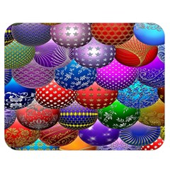 Fun Balls Pattern Colorful And Ornamental Balls Pattern Background Double Sided Flano Blanket (medium)
