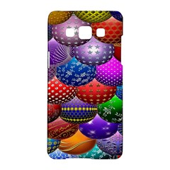 Fun Balls Pattern Colorful And Ornamental Balls Pattern Background Samsung Galaxy A5 Hardshell Case