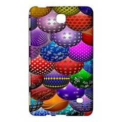 Fun Balls Pattern Colorful And Ornamental Balls Pattern Background Samsung Galaxy Tab 4 (7 ) Hardshell Case