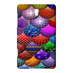 Fun Balls Pattern Colorful And Ornamental Balls Pattern Background Samsung Galaxy Tab S (8.4 ) Hardshell Case