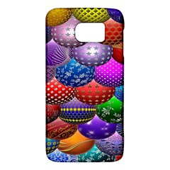 Fun Balls Pattern Colorful And Ornamental Balls Pattern Background Galaxy S6