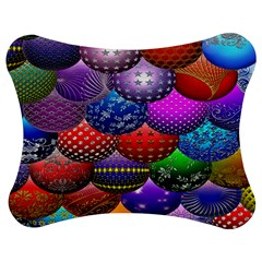 Fun Balls Pattern Colorful And Ornamental Balls Pattern Background Jigsaw Puzzle Photo Stand (bow)