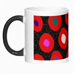 Polka Dot Texture Digitally Created Abstract Polka Dot Design Morph Mugs