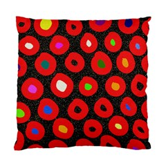 Polka Dot Texture Digitally Created Abstract Polka Dot Design Standard Cushion Case (One Side)