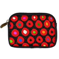 Polka Dot Texture Digitally Created Abstract Polka Dot Design Digital Camera Cases