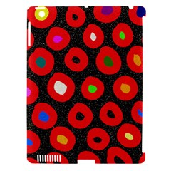 Polka Dot Texture Digitally Created Abstract Polka Dot Design Apple Ipad 3/4 Hardshell Case (compatible With Smart Cover)