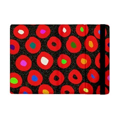 Polka Dot Texture Digitally Created Abstract Polka Dot Design Apple iPad Mini Flip Case
