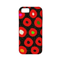 Polka Dot Texture Digitally Created Abstract Polka Dot Design Apple Iphone 5 Classic Hardshell Case (pc+silicone)