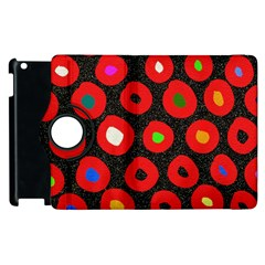 Polka Dot Texture Digitally Created Abstract Polka Dot Design Apple Ipad 3/4 Flip 360 Case