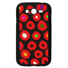 Polka Dot Texture Digitally Created Abstract Polka Dot Design Samsung Galaxy Grand Duos I9082 Case (black)