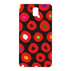 Polka Dot Texture Digitally Created Abstract Polka Dot Design Samsung Galaxy Note 3 N9005 Hardshell Back Case