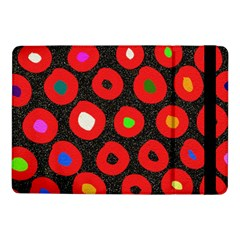 Polka Dot Texture Digitally Created Abstract Polka Dot Design Samsung Galaxy Tab Pro 10.1  Flip Case