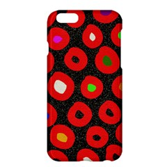Polka Dot Texture Digitally Created Abstract Polka Dot Design Apple iPhone 6 Plus/6S Plus Hardshell Case