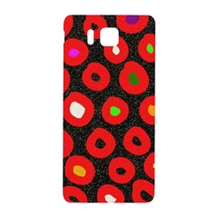 Polka Dot Texture Digitally Created Abstract Polka Dot Design Samsung Galaxy Alpha Hardshell Back Case