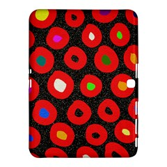 Polka Dot Texture Digitally Created Abstract Polka Dot Design Samsung Galaxy Tab 4 (10.1 ) Hardshell Case