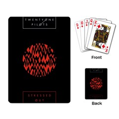Albums By Twenty One Pilots Stressed Out Playing Card