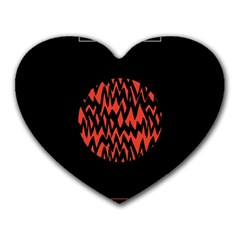 Albums By Twenty One Pilots Stressed Out Heart Mousepads