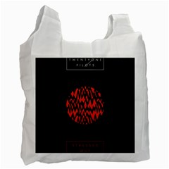 Albums By Twenty One Pilots Stressed Out Recycle Bag (One Side)