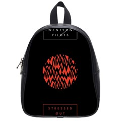 Albums By Twenty One Pilots Stressed Out School Bags (Small)