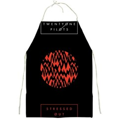 Albums By Twenty One Pilots Stressed Out Full Print Aprons
