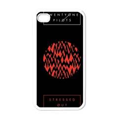 Albums By Twenty One Pilots Stressed Out Apple Iphone 4 Case (white)