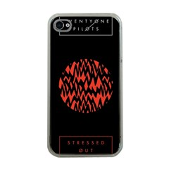Albums By Twenty One Pilots Stressed Out Apple iPhone 4 Case (Clear)