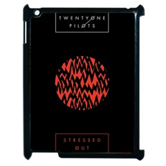 Albums By Twenty One Pilots Stressed Out Apple iPad 2 Case (Black)