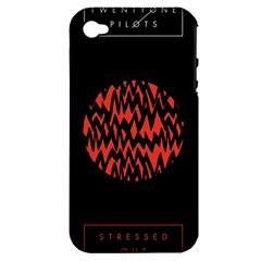 Albums By Twenty One Pilots Stressed Out Apple iPhone 4/4S Hardshell Case (PC+Silicone)