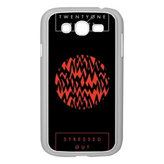 Albums By Twenty One Pilots Stressed Out Samsung Galaxy Grand Duos I9082 Case (white)