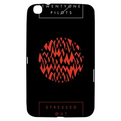Albums By Twenty One Pilots Stressed Out Samsung Galaxy Tab 3 (8 ) T3100 Hardshell Case