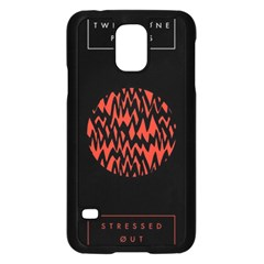 Albums By Twenty One Pilots Stressed Out Samsung Galaxy S5 Case (Black)