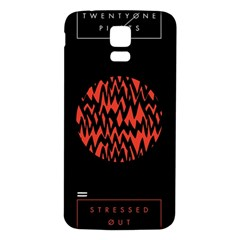 Albums By Twenty One Pilots Stressed Out Samsung Galaxy S5 Back Case (White)