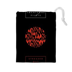 Albums By Twenty One Pilots Stressed Out Drawstring Pouches (Large)