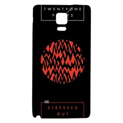 Albums By Twenty One Pilots Stressed Out Galaxy Note 4 Back Case