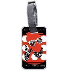 Twenty One Pilots Poster Contest Entry Luggage Tags (One Side)