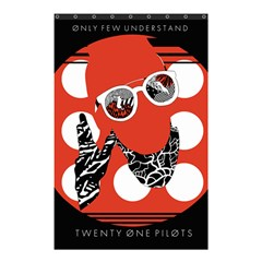 Twenty One Pilots Poster Contest Entry Shower Curtain 48  x 72  (Small)
