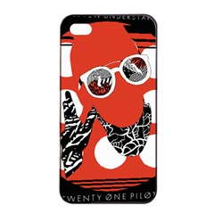 Twenty One Pilots Poster Contest Entry Apple iPhone 4/4s Seamless Case (Black)
