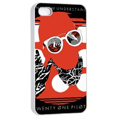 Twenty One Pilots Poster Contest Entry Apple iPhone 4/4s Seamless Case (White)