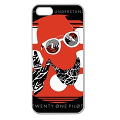 Twenty One Pilots Poster Contest Entry Apple Seamless iPhone 5 Case (Clear)