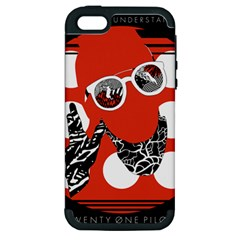 Twenty One Pilots Poster Contest Entry Apple iPhone 5 Hardshell Case (PC+Silicone)