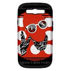 Twenty One Pilots Poster Contest Entry Samsung Galaxy S III Hardshell Case (PC+Silicone)