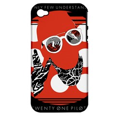 Twenty One Pilots Poster Contest Entry Apple Iphone 4/4s Hardshell Case (pc+silicone)