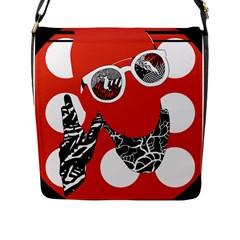 Twenty One Pilots Poster Contest Entry Flap Messenger Bag (L)