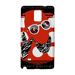 Twenty One Pilots Poster Contest Entry Samsung Galaxy Note 4 Hardshell Case